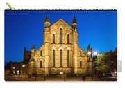 East Side Of Hexham Abbey At Night Carry-all Pouch