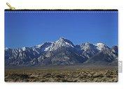 East Side Sierra Nevada Range Carry-all Pouch