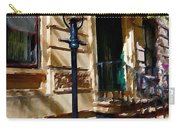 East Village New York Townhouse Carry-all Pouch