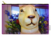 Easter Bunny Bouquet Carry-all Pouch