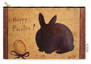 Easter Golden Egg And Chocolate Bunny Carry-all Pouch