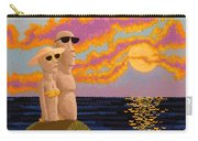 Easter Island Sunset Carry-all Pouch