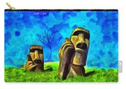 Easter Island - Van Gogh Style - Pa Carry-all Pouch