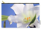 Easter Lily Back Lit By The Sun  Carry-all Pouch