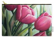 Easter Tulips Carry-all Pouch
