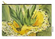 Easter Tulips Carry-all Pouch by Maria Langgle