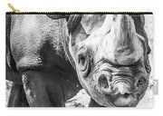 Eastern Black Rhinoceros Carry-all Pouch