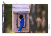 Eastern Bluebird Entering Home Carry-all Pouch