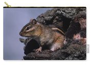 Eastern Chipmunk In Tree Carry-all Pouch