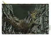 Eastern Chipmunk On Tree Carry-all Pouch