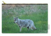 Eastern Coyote In Meadow   Carry-all Pouch