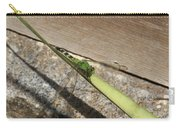 Eastern Pondhawk On A Leaf Carry-all Pouch