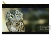 Eastern Screech Owl-6950 Carry-all Pouch