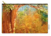 Eastern Sierra Fall Tree Carry-all Pouch