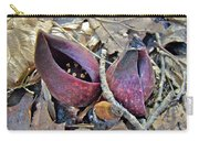 Eastern Skunk Cabbage Spathes - Symplocarpus Foetidus Carry-all Pouch