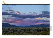 Eastern Sky At Sunset - Taos New Mexico Carry-all Pouch