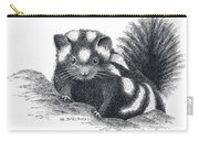 Eastern Spotted Skunk Carry-all Pouch