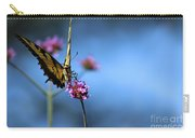 Eastern Tiger Swallowtail And Blue Sky Carry-all Pouch