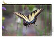 Eastern Tiger Swallowtail Butterfly In Garden 2016 Carry-all Pouch