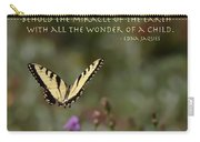 Eastern Tiger Swallowtail Butterfly - The Beauty Of The Wild Carry-all Pouch