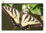 Eastern Tiger Swallowtail  Butterfly Wingspan Carry-all Pouch