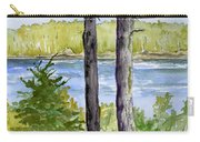 Eastport Maine Coastal Afternoon Carry-all Pouch