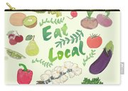 Eat Local  Carry-all Pouch