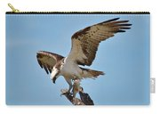 Eating Osprey-1 Carry-all Pouch by Rudy Umans
