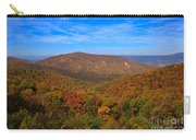 Eaton Hollow Overlook On Skyline Drive In Shenandoah National Park Carry-all Pouch