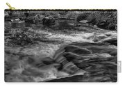 Eau Claire Dells Black And White Flow Carry-all Pouch