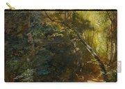 Ebert, Carl 1821 Stuttgart - 1885   Inside A Forest. Carry-all Pouch