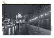 Ebertstrasse And The Brandenburg Gate Carry-all Pouch