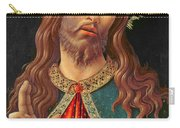 Ecce Homo Or The Redeemer Carry-all Pouch by Botticelli