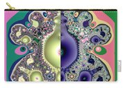 Ecclesiastes 3 A Time To Be Born And A Time To Die Fractal Carry-all Pouch
