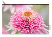 Echinacea Butterfly Kisses Carry-all Pouch