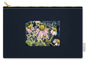 Echinacea Coneflower 2 Carry-all Pouch