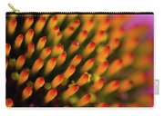 Echinacea Coneflower Abstract Carry-all Pouch