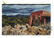 Echoes Of Tularosa, Museum Hill, Santa Fe, Nm Carry-all Pouch