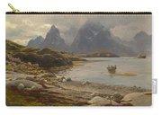 Eckenbrecher, Karl Paul Themistokles Von Athens 1842 - 1921 Goslar Norwegian Fjord Carry-all Pouch
