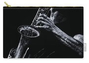Eclectic Sax Carry-all Pouch