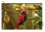 Eclectus Parrot Digital Oil Painting Carry-all Pouch