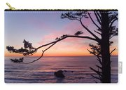 Ecola Park Sunset Carry-all Pouch