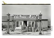 Edcouch Texas Gas Station 1939 Carry-all Pouch