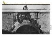 Eddie Rickenbacker - World War One - 1918 Carry-all Pouch