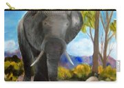 Eddy Elephant Carry-all Pouch