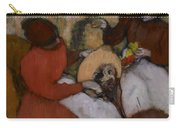 Edgar Degas - The Milliners - 1898 Carry-all Pouch