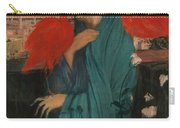 Edgar Degas - Young Woman With Ibis - 1860-1862 Carry-all Pouch
