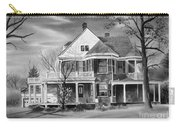 Edgar Home Bw Carry-all Pouch by Kip DeVore