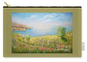 Edge Of The Cliffs By The Sea Carry-all Pouch