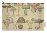 Edible And Poisonous Mushrooms Carry-all Pouch